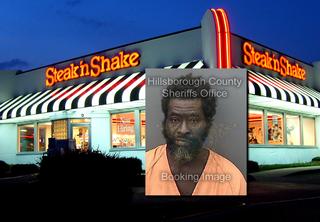 Florida man urinates in middle of Steak 'n Shake