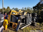 School bus crash with injuries in Florida