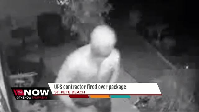 UPS driver arrested after stealing a package he delivered a few hours earlier