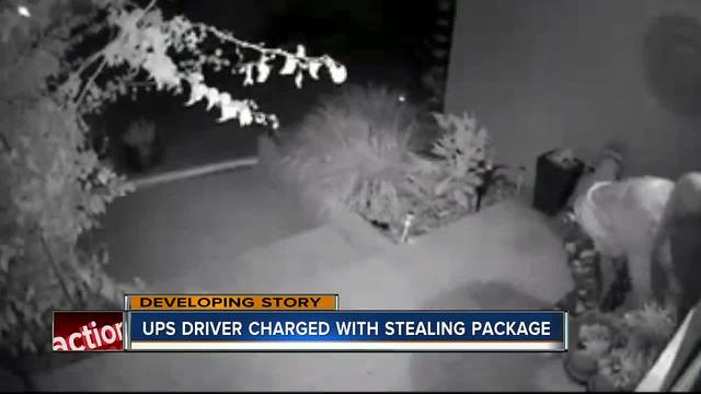 UPS driver steals package he delivered