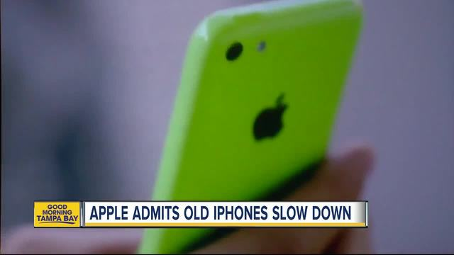 Apple confirm it slows down old iPhones to 'prolong device life'