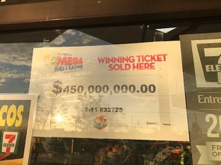 20-year-old Florida man claims Mega Millions win