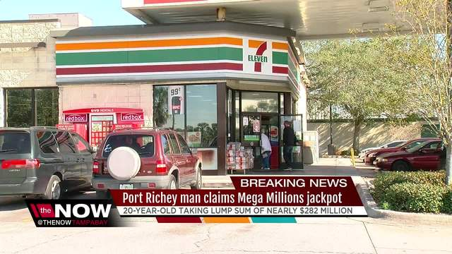 Florida man, 20, claims $451 million Mega Millions lottery jackpot