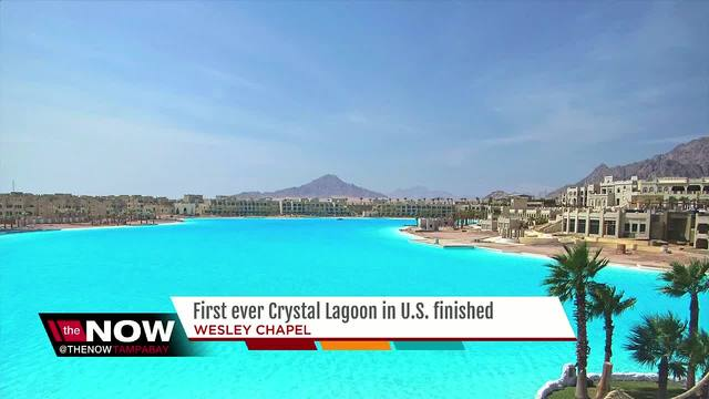 Crystal-clear Wesley Chapel lagoon now filled with water