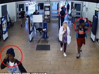 Armed juveniles steal elderly woman's car