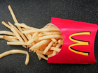 Free french fries at McDonald's