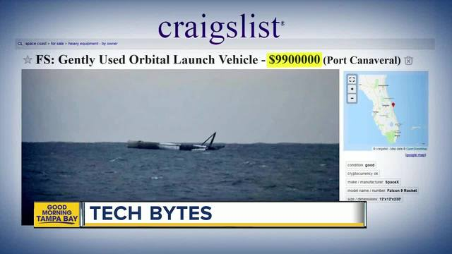 Gently Used Spacex Rocket For Sale On Craigslist Theindychannel