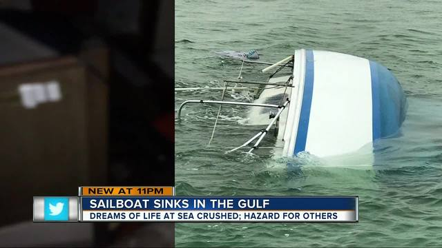 Colorado couple loses life possessions after setting sail on dream boat