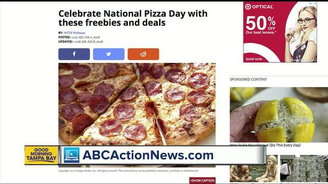 It's National Pizza Day! Celebrate with these deals