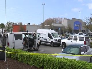 Body found in van in Walmart parking lot