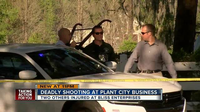 Shooting at Bliss Enterprises in Plant City, multiple victims