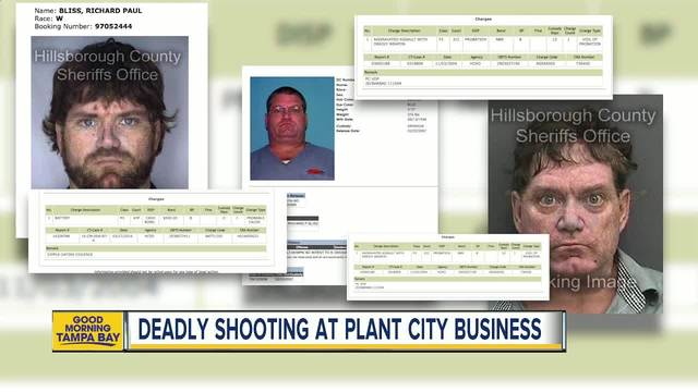A Plant City business owner was shot and killed following an ongoing dispute with two men who were living on the property
