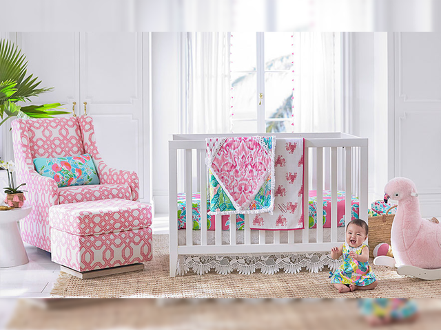 Lilly Pulitzer Pottery Barn Launch Home Decor Line