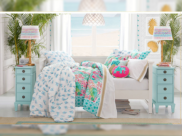 Lilly Pulitzer & Pottery Barn launch home decor line featuring ...