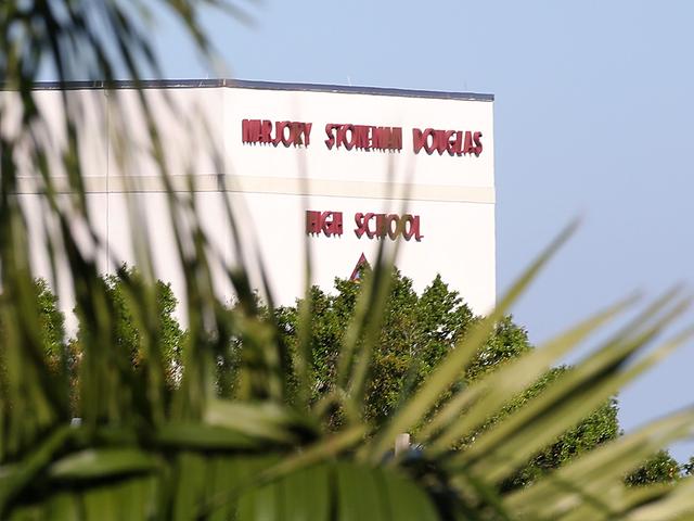 Female student arrested after bringing knife to Marjory Stoneman Douglas High School