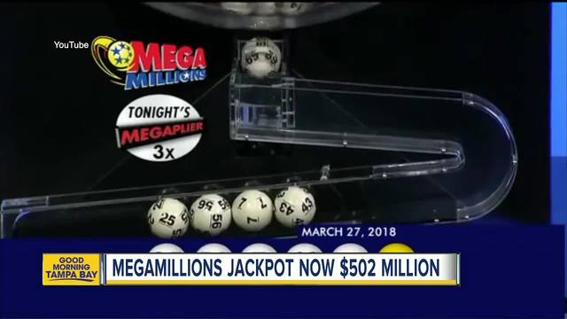 Mega Millions jackpot tops $500 million for fourth time in history
