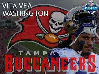 Bucs draft DT Vita Vea in 1st round of NFL Draft