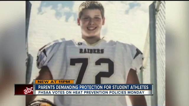 Florida mom wants High School Athletic Association to do more after son…