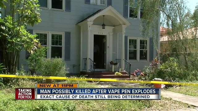 Man Found Dead After Vape Pen Apparently Explodes In His Face