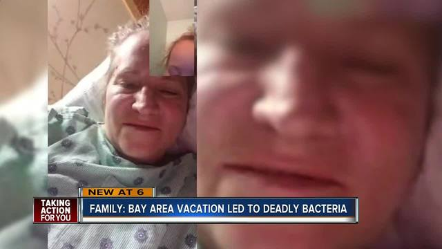 Woman dies from flesh-eating bacteria after Florida vacation, reports say