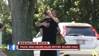 NE Ohio mother killed, toddler hurt in crash
