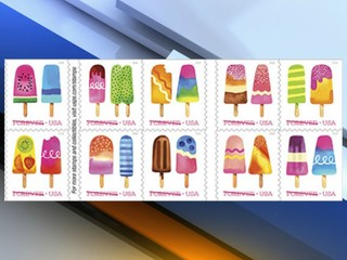 First-ever Scratch-and-Sniff stamps now on sale