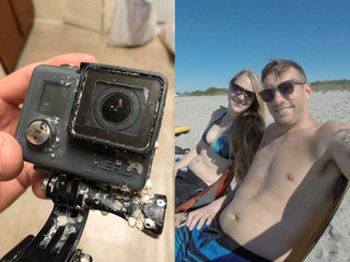 Man finds GoPro in Gulf, finds owner