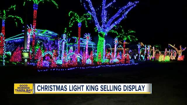 florida man selling renowned christmas light display for 24k