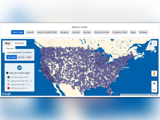 ADT releases interactive crime map