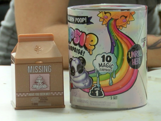 Family finds x-rated surprise on popular toy