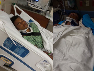 H.S. football player hospitalized after brawl