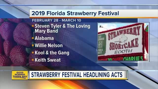 Florida Strawberry Festival lineup announced for 2019