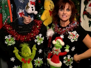 Mom's 'ugly, tacky' Xmas sweaters hit nationwide