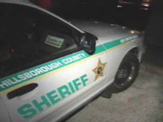 hillsborough sheriff cruiser