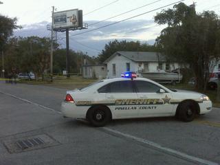 Deputies: Driver cut off motorcycle & took off