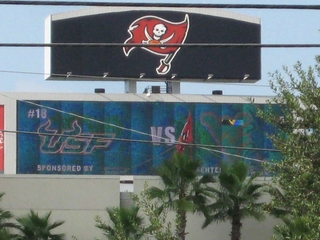 USF jumbotron raymond james