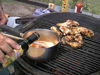 Tony Fatso fires up the grill and makes simple chicken wings on the grill!  Delicious!