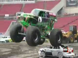 Monster Jam at Raymond James stadium Saturday night.