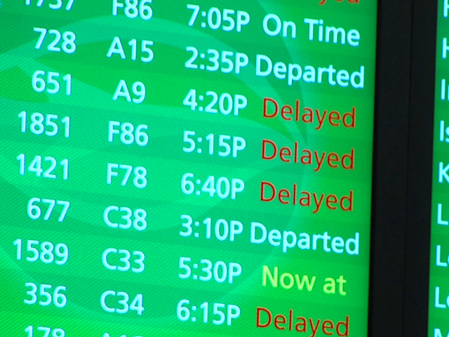 Airlines Brace for East Coast Storm
