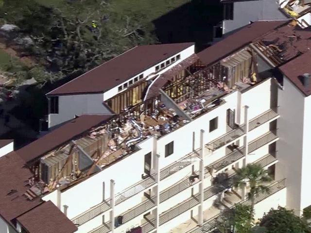 Tornado Damage Being Assessed In Siesta Key
