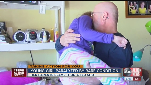 A Flu Shot Is Blamed For Paralyzing Marysue Grivna The 12