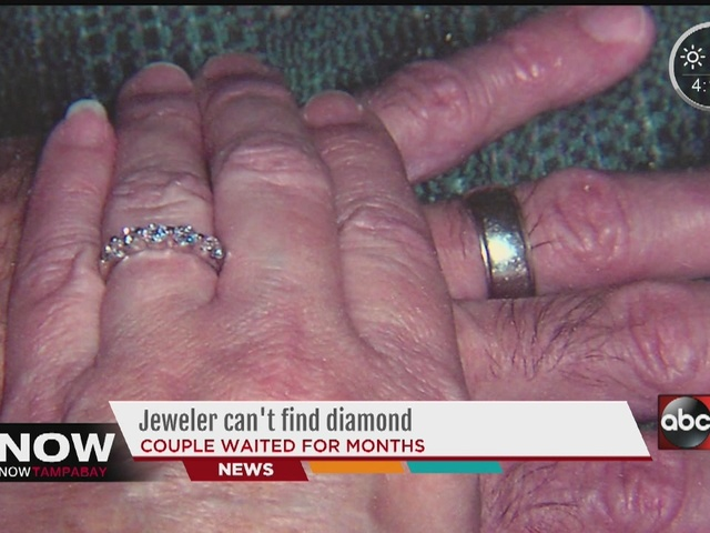 TAKING ACTION Couple waits months for Jareds jewelers to make