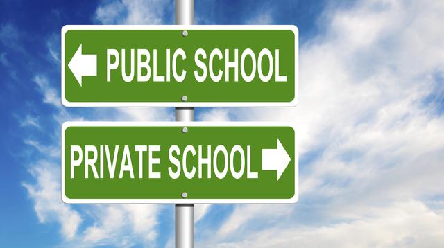 public vs private school The facts on public vs private schools public schools: private schools: us enrollment: approximately 498 million students 90% of children attend public schools.