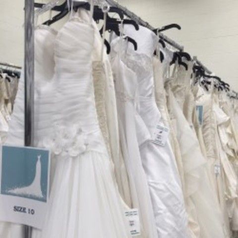 Brides-to-be shop deals, support communitty with Goodwill wedding ...