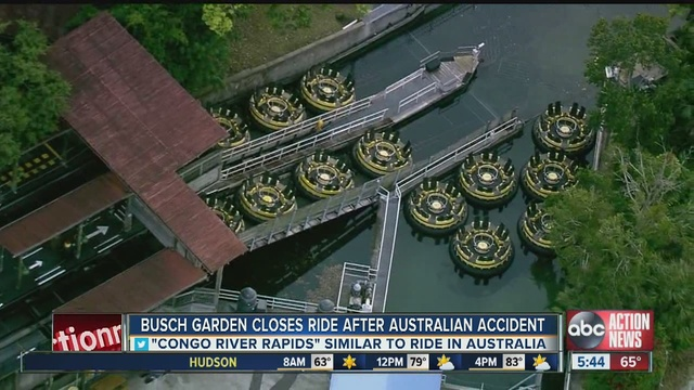 Busch Gardens Closes 39 Congo River Rapids 39 Ride After Deadly Accident On Similar Ride In