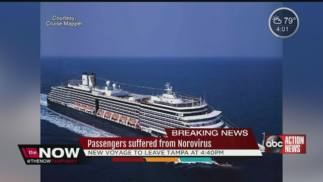 Norovirus Outbreak Suspected On Cruise Ship Docked In Tampa - Cruise ship norovirus
