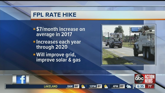 Florida Power U0026 Light $811M Rate Hike Approved, See How Much Your Bill Will  Increase