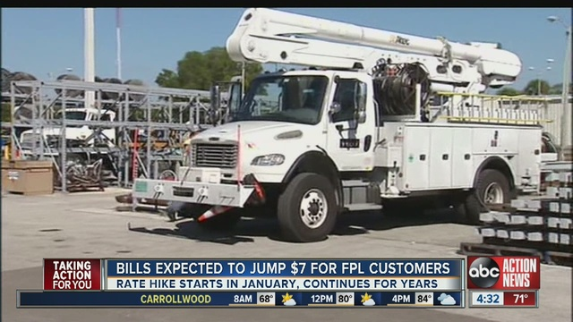 Tuesday Night, The Florida Public Service Commission Voted Unanimously In  Favor Of A $811M Rate Hike Which Had Been Sought By Florida Power U0026 Light.