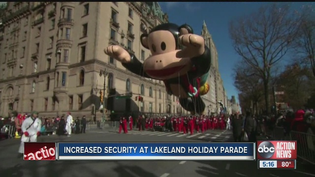the lakeland police department is preparing for thousands of attendees at the citys annual christmas parade on thursday night - When Is The Christmas Parade