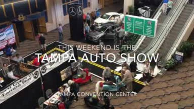 Tampa Auto Show Shows Off The Affordable And The Incredible - Tampa convention center car show